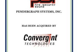 Pendergraph Systems Acquired by Convergint Technologies