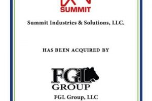Summit Industries Acquired by FGL Group