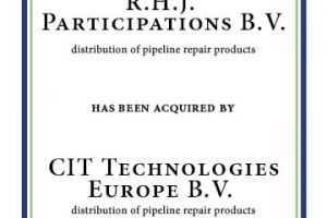 R.H.J. Participations B.V. Acquired by CIT Technologies Europe B.V.